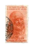 штемпель почтоваи оплата 1952 dated Италия Стоковые Фото