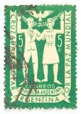 штемпель почтоваи оплата Стоковая Фотография