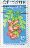 штемпель почтоваи оплата broadbean гаваиский одичалый Стоковое Изображение