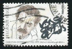 Штемпель почтового сбора Австрия стоковое фото rf