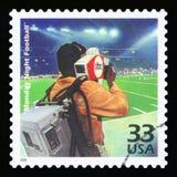 Штемпель почтового сбора США стоковые фотографии rf