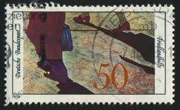 Штемпель почтового сбора Стоковые Фото