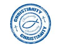 штемпель христианства Стоковое фото RF