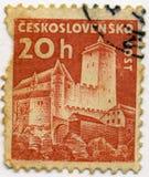 Штемпель Чехословакии Стоковые Фотографии RF