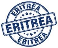 Штемпель Эритреи бесплатная иллюстрация