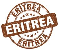 Штемпель Эритреи иллюстрация штока