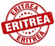 Штемпель Эритреи иллюстрация вектора