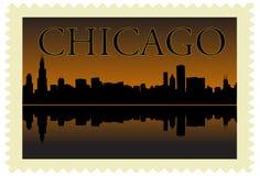 штемпель chicago Стоковые Изображения