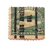 штемпель niagara 25 падений центов Стоковое Изображение RF