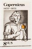 штемпель nicolaus Коперника Стоковое Фото