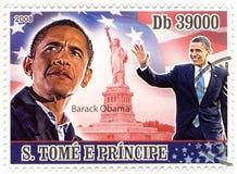 штемпель obama barack Стоковые Изображения RF