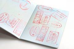 штемпеля пасспорта бесплатная иллюстрация