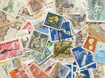 штемпеля почтоваи оплата Стоковое Изображение