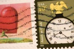 штемпеля почтоваи оплата Стоковая Фотография
