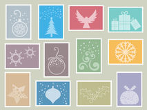 штемпеля рождества Стоковое Фото