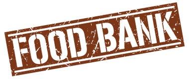 штемпель квадрата продовольственного фонда Стоковое Фото