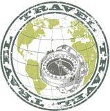 Штемпель компаса Стоковая Фотография RF