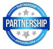 Штемпель партнерства Стоковые Изображения