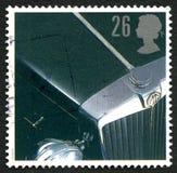 Штемпель почтового сбора Великобритании вездехода MG Стоковая Фотография