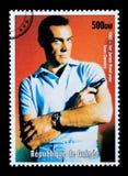 Штемпель почтового сбора Жамес Бонд Стоковое фото RF