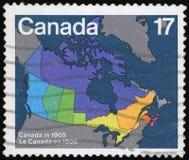 Штемпель почтового сбора Канады стоковая фотография rf