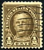 Штемпель почтового сбора Натана здоровый США Стоковые Фото