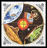 Штемпель почтового сбора Николаса Copernic Стоковая Фотография
