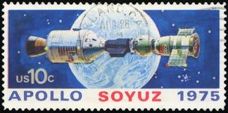 Штемпель почтового сбора США стоковое фото rf