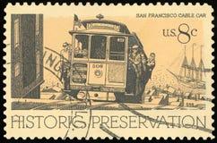 Штемпель почтового сбора США стоковые изображения rf