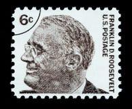 Штемпель почтового сбора Франклин Делано Рузвельт Стоковые Изображения RF