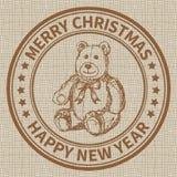 Штемпель рождества Стоковые Фото