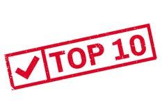 Штемпель 10 лучших Стоковые Фотографии RF