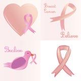 штемпель фондом находки дракой лечения рака молочной железы почтовый Стоковая Фотография RF
