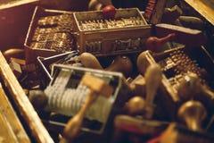 штемпелюет сбор винограда Стоковая Фотография
