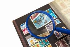 Штемпеля почтового сбора Стоковое фото RF