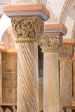 Штендеры Romanesque, 12th столетие Стоковое Фото