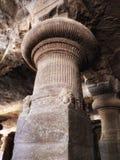 Штендер на что пещера Elephanta была строением стоковая фотография rf