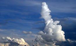 Штендер облака Стоковая Фотография