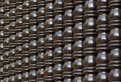 Штендер типа Brown деревянный тайский стоковые изображения