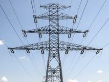 Штендер электричества Стоковая Фотография