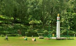 Штендер ashok в парке bryant kodaikanal стоковое изображение rf