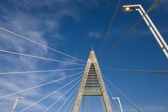 штендер lampposts моста Стоковые Изображения RF