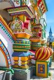 Штендеры fretwork в русском стиле стоковая фотография rf