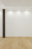 Штендер Брайна, белая стена стоковые изображения rf