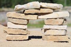Штендер камня стоковая фотография rf