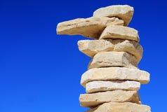 Штендер камня стоковое фото rf