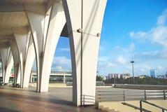 Штендер стадиона стоковые фото