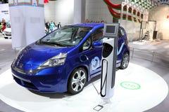 штепсельная вилка гибрида Хонда принципиальной схемы автомобиля стоковое изображение rf