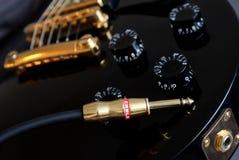 штепсельная вилка гитары Стоковое Изображение