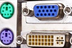 штепсельная вилка монитора ins Стоковая Фотография RF